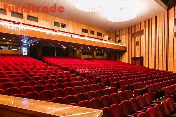 Театральные кресла Венеция для Академического театра Драмы г. Краснодар