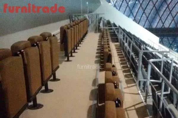 Кресла для стадионов от производителя в Дворце по водным видам спорта г. Казань