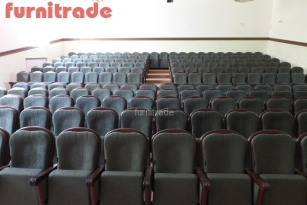 Театральные кресла Пушкин от производителя Фурнитрейд в санатории Варзи-Ятчи