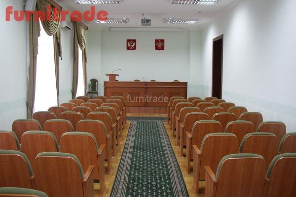 Конференц зал с креслами Леонард производства Фурнитрейд