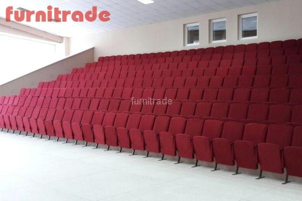 Кресла для актовых залов Цезарь от производителя в ЦРТВДиЮ Победа г. Челябинск