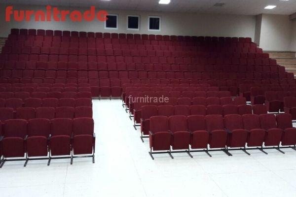 Театральные кресла Цезарь в центре развития творчества детей и юношества Победа г. Челябинск