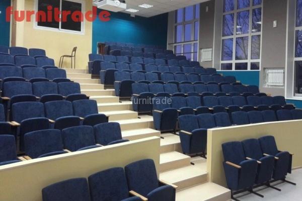 Кресла для конференц зала Цезарь в Педагогическом Университете г. Владимир