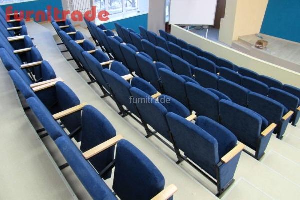 Фабрика Фурнитрейд произвела театральные кресла Цезарь в Университет г. Владимир