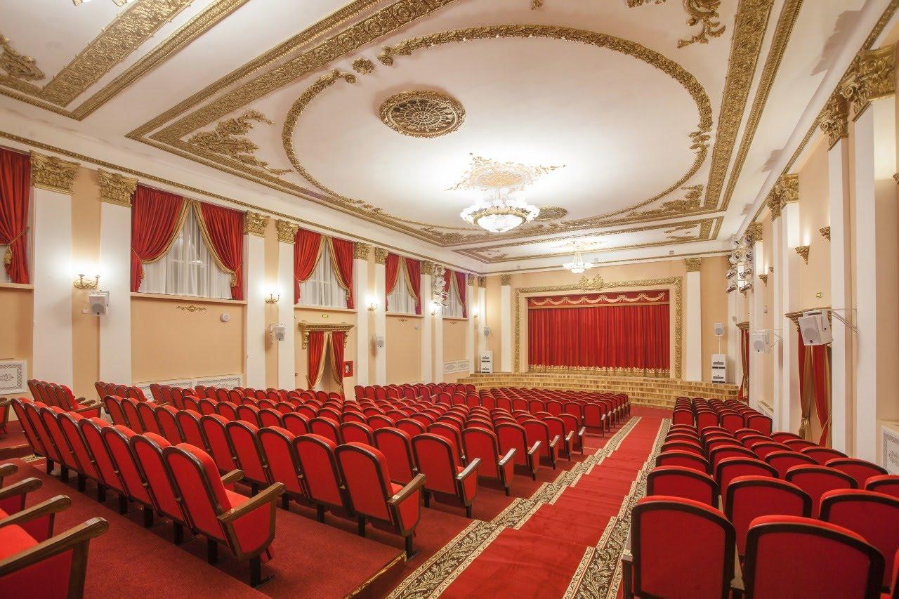 Театральные кресла Грация в хоровой школе