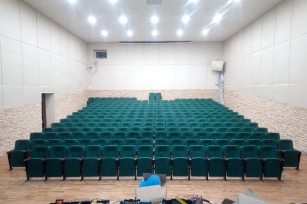 Театральные кресла Соло в клубе Заречье д. Слобода, гор. округ Клин