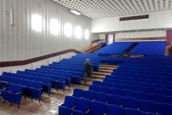 Театральные кресла Цезарь в Крым пгт. Черноморское