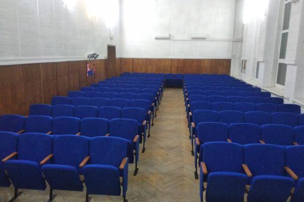 театральные кресла Цезарь в одном из залов МБУК «ЦКС» Крыма