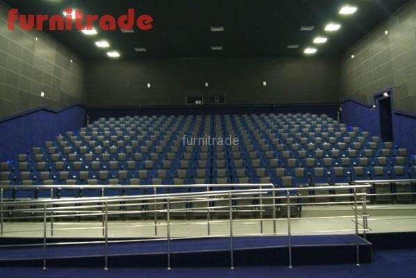 Кинотеатральные кресла Орион в ДКЦ Юбилейный ст. Тбилисская
