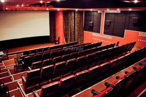 Кинотеатральные кресла Спутник в  кинотеатре Моссовета г.  Москве от производителя Фурнитрейд