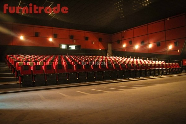 Кинотеатральные кресла Орион в кинотеатре Восход г. Лабинск от  производителя Фурнитрейд