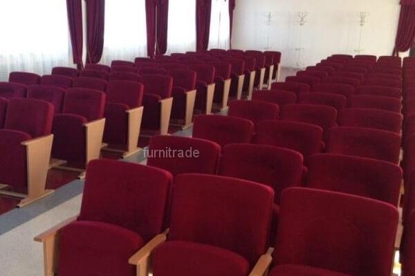 Театральные кресла Соло Вуд в актовом зале г. Минск
