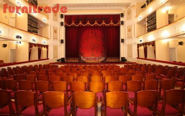 Музыкальный театр Республики Карелия, г. Петрозаводск. Театральные кресла индивидуальной разработки
