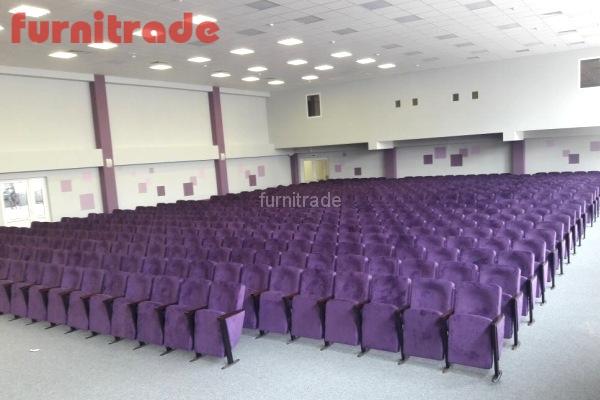 Театральные кресла Соло в школе мкр Губернский, г. Краснодар