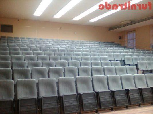 Театральные кресла Мега Соло в ИЯФ СО РАН г. Новосибирск от производителя Furnitrade