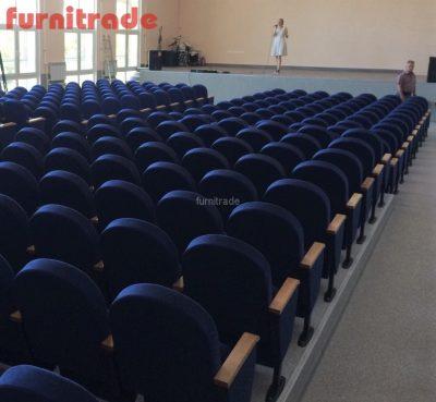 Театральные кресла Примэк в Самарском медицинском колледже им. Н. Ляпиной от производителя Furnitrade